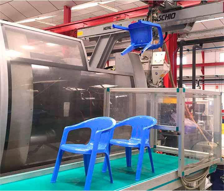 Inyección de plásticos - Sector menaje